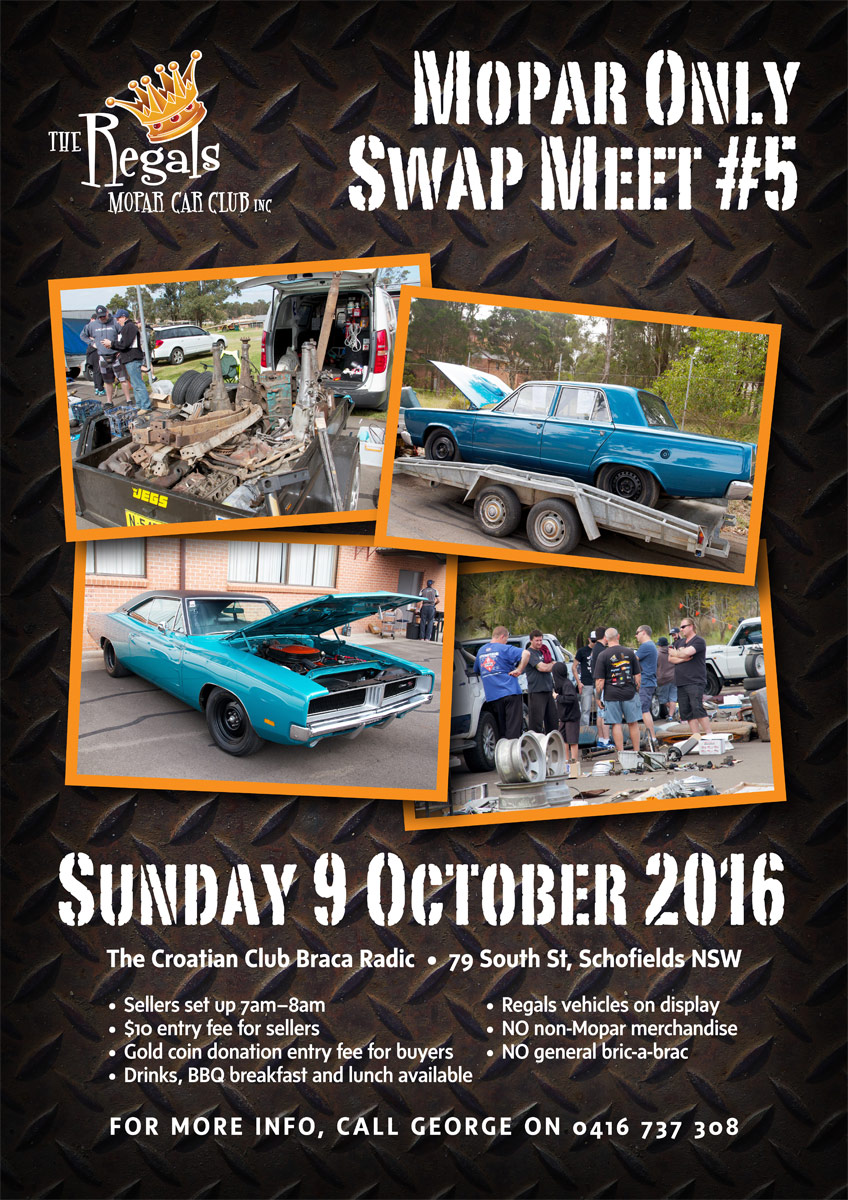 2016 Swap Meet Flyer
